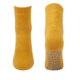 Anti-slip sokken donkergeel