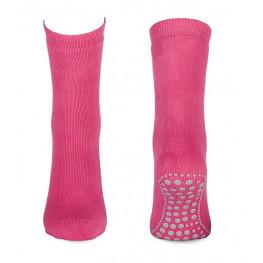 Anti-slip sokken fuchsia
