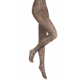 Panty Marianne panterprint camel