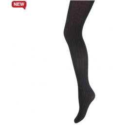 Panty van Marianne zigzag zwart-mokka