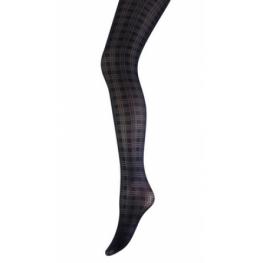 Panty by Marianne ruit aanbieding zwart