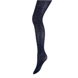 Panty by Marianne flower aanbieding marineblauw