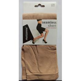 Dames seamless short neutraal