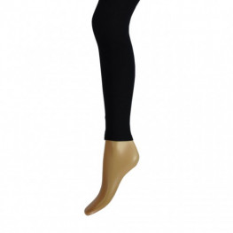 Dames katoenen legging zwart