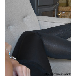 Dames legging met glitterprint