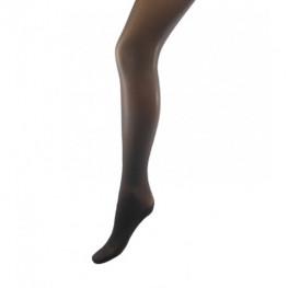 Panty zwart met naad