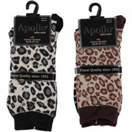 Dames sokken met dierenprint