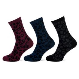 Dames sokken met luipaard dessin