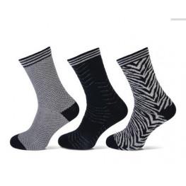 Dames sokken met verschillende prints