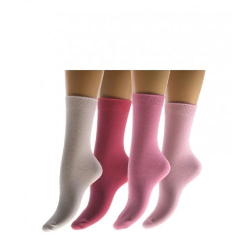 Effen meisjes sokken zonder voelbare teennaad
