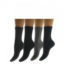 Katoenen dames sok zonder voelbare  teennaad