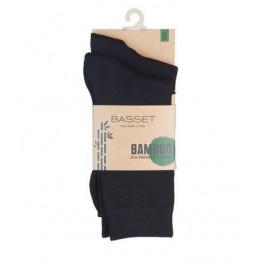 Dames en herensok bamboe 2 - pak zwart