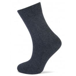 Effen sokken van Yellow moon donker grijs