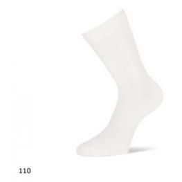 Effen sokken van Yellow moon wit