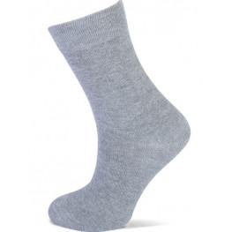 Effen sokken van Yellow moon licht grijs