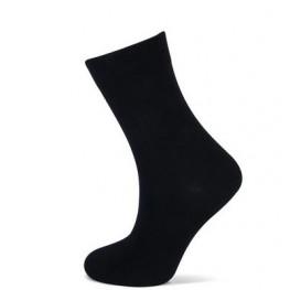 Effen sokken van Yellow moon zwart