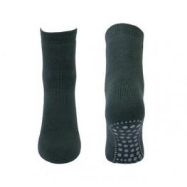 Anti-slip sokken donkergroen