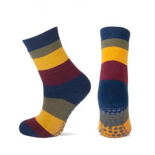Anti-slip sokken met strepen