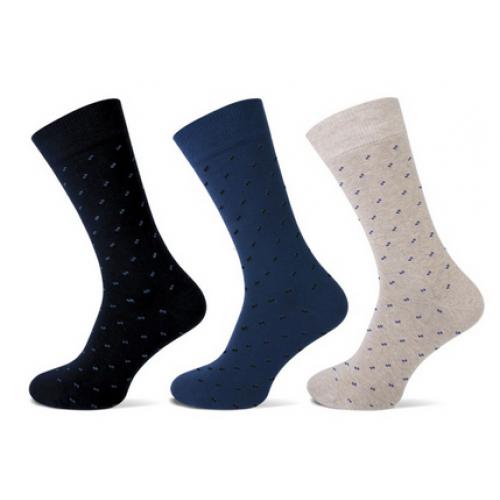 Heren sokken met een fijn stipje