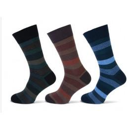 Heren sokken in drie verschillende kleuren