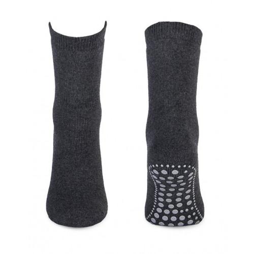 Anti-slip sokken antraciet