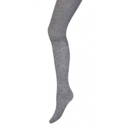 Kinder maillot met stippen 3d effect grijs