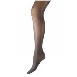 Kinder panty zwart met zilver lurex